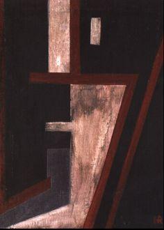 Hans Richter, Dada Kopf, 1918  Oil on canvas, 14.3 x 11.2 inches