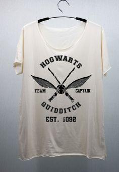 Hogwarts Quidditch - Harry Potter T Shirts Tee Shirt