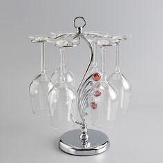 Wine rack rack shelf Wine cup iron goblet European Cup Holder wine cup rack hanging upside down