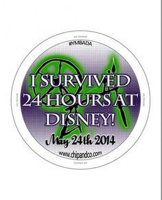 Disneyland 24 hour Party is just around the corner!