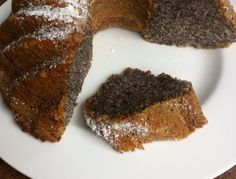 5 Mimutes Cake For the yogurt poppy seed cake best when preparing the ingredients first . Poppy Seed Cake, Yogurt, Poppies, Bakery, Seeds, Food And Drink, Cooking, Desserts, Muffins