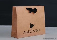 Astonish shopping bag photograph by Elena Loga Bag Packaging, Print Packaging, Packaging Design, Brand Identity Design, Logo Design, Working In Retail, Branding Services, Beauty Companies, Retail Interior