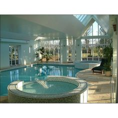 Indoor swimming pool luxus  Indoor Swimming Pools, Luxurious Pool Design, Pool Ideas ❤ liked ...