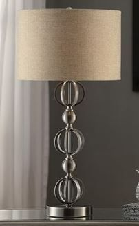 Cicrles Lamp By Crestview Metal Table Lamps, Occasional Tables, Floor Lamp,  Desks,