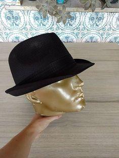 20565b869b219 Chapéu panamá preto. chapéu panamá preto - chapeu sem marca