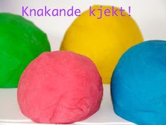 Glad i mat: Bursdagstips- Heimelaga modellkitt Alter, Mango, Fruit, Diy, Food, Science, Manga, Bricolage, The Fruit