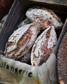 Rågsur with apple and walnuts / Bread Spoon Bread, Pain Au Levain, Rustic Bread, French Bakery, Our Daily Bread, Bread And Pastries, Fresh Bread, Sourdough Bread, Artisan Bread
