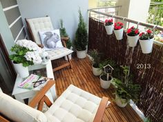 dekorator amator: Balkon 2014