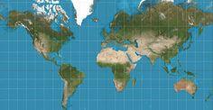 Conheça a verdade sobre mapas.