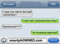 Page 54 Autocorrect Fails and Funny Text Messages SmartphOWNED - Funny Text - - Page 54 Autocorrect Fails and Funny Text Messages SmartphOWNED The post Page 54 Autocorrect Fails and Funny Text Messages SmartphOWNED appeared first on Gag Dad. Funny Text Messages Fails, Funny Texts Jokes, Text Jokes, Cute Texts, Crazy Funny Memes, Really Funny Memes, Stupid Funny Memes, Funny Laugh, Funny Relatable Memes