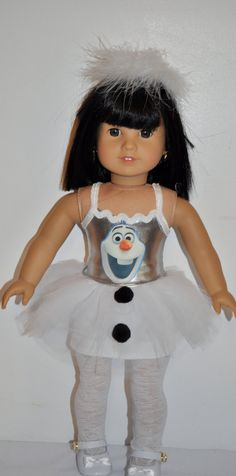 Hey, I found this really awesome Etsy listing at https://www.etsy.com/listing/189088015/frozen-olaf-dress-that-fits-american