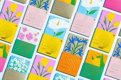 Floral Tea Packaging, Print Packaging, Design Packaging, Packaging Design Inspiration, Graphic Design Inspiration, Design Ideas, Branding, Game Design, Slow Galerie