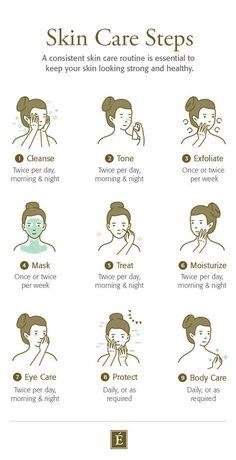 Clear Skin Face, Face Skin Care, Skin Care Routine Steps, Skin Care Tips, Skin Care Products, Skin Tips, Nightly Skin Care Routine, Beauty Products, Clear Skin Routine