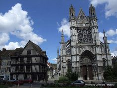 Collegiate Church of Notre Dame, Vernon, France