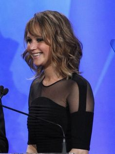 Jennifer Lawrence   love her, love her hair