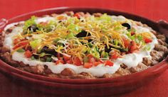 7 Layer Dip---the best!