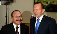 PNG says refugee resettlement deal to be revised due to lack of public support   Peter O'Neill tells Tony Abbott that a new policy on resettling people held on Manus will be taken to cabinet after lengthy public consultation   Tony Abbott and Peter O'Neill in Port Moresby in March.