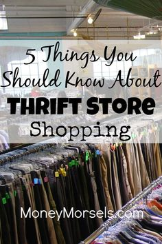 Thrift store shopping can be a lot of fun. The amazing deals and bargains you can find at them are endless. They can even be lucrative if you have the urge to resell things. Learn more about the treasures you can find at thrift stores by clicking here.