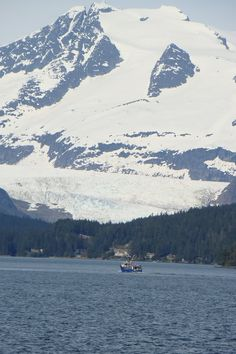 Outside of Juneau, Alaska - such a cool city, and there are NO roads that can take you there!