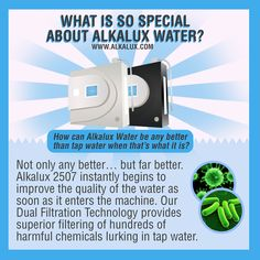 What is so Special About Alkalux Water? http://www.alkalux.com/products/water-ionizers/alkalux-2507-water-ionizer.html
