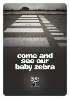 Monarto Zoo | #ads #marketing #creative #werbung #print #poster #advertising #campaign < repinned by www.BlickeDeeler.de | Have a look on www.Printwerbung-Hamburg.de