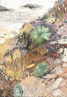 California Hillside  Original painting by MichelleMorinArt on Etsy