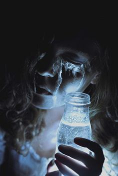 writing prompt: she collects her tears, it's the last magic she has