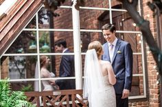 real weddings, wedding photography ideas, first look photos, bride and groom, happy couple, outdoor weddings, The Historic Brookstown Inn, Winston Salem