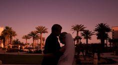Sunset wedding photo of Bride and Groom. Matt Kennedy - Portfolio Photo By www.mattkennedy.ca