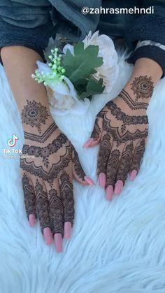 Henna Designs Arm, Pretty Henna Designs, Modern Henna Designs, Rose Mehndi Designs, Latest Henna Designs, Stylish Mehndi Designs, Mehndi Design Photos, Mehndi Designs For Fingers, Henna Inspired Tattoos