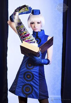 Elizabeth from Persona 3 by Riddle1 I've seen this being created on heroes of cosplay and I was impressed!