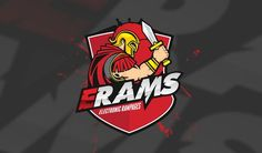 eRAMs eSport - Gaming Logo Design by moellerMEDIA on DeviantArt Warrior Logo, Porsche Logo, Logo Design, Deviantart, Logos, Gaming, Videogames, Logo, Game
