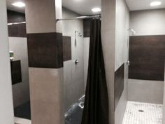 NEOLITH TILES FOR GYM SHOWER WALLS © Bob Brobson inc Chicago