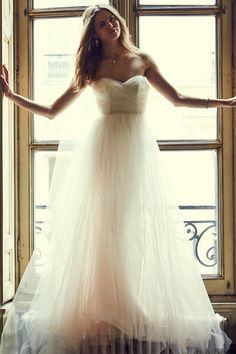 BHLDN Bella Gown in  Bride Wedding Dresses at BHLDN