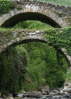 Molini Bridge near Triora Imperia Liguria Italy