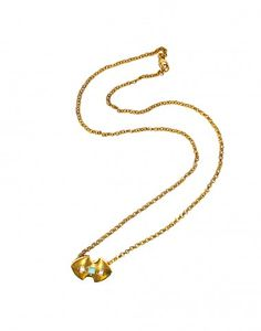 Cynthia Rowley - Gold Plated Charm Necklace   Accessories by Cynthia Rowley