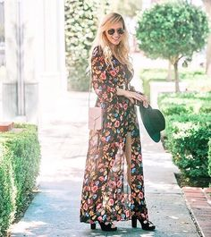 Step up your romper game with @mystylediaries' boho maxi overlay find | Shop her look with www.LIKEtoKNOW.it | http://liketk.it/2p1dv #liketkit