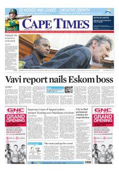 News making headlines: Vavi report nails Eskom boss