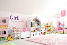 Girls' Dream Playroom Makeover: Part 2
