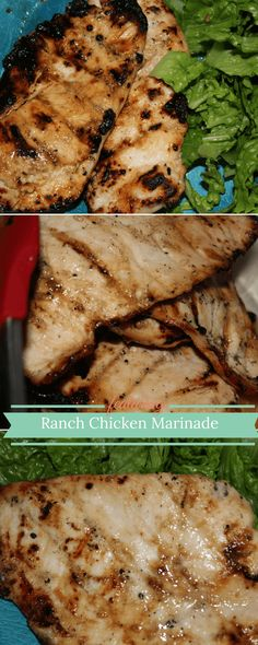 I can't wait to make this Ranch Chicken Marinade!
