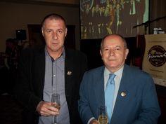 Miguel Luiz Medeiros/Revista Quasar Turismo e Batista Filho/Presidente da ARI(Associação Rio Grandense de Imprensa). Lançamento do Festuris Gramado 2012.