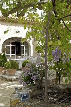 Provence Courtyard