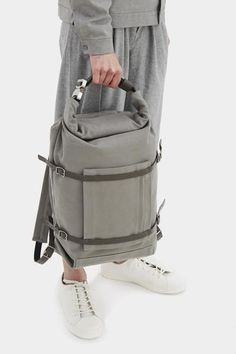3f5b0258f4 U-tility Backpack Waxed Grey Travel Bags