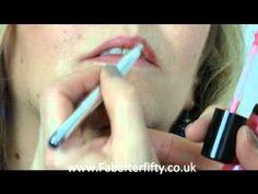 Make-up tips for women over 50 - Lips