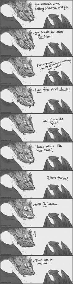 Toothless vs Smaug                                                                                                                                                                                 More