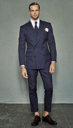 Double Breasted Blazer Men's Inspiration I... | MenStyle1- Men's Style Blog