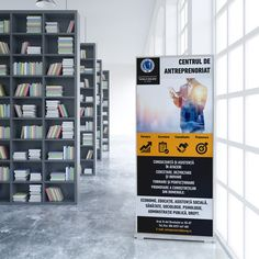 Design roll-up UVVG Arad