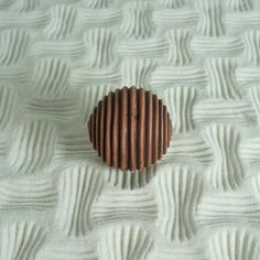 Sand Patterning Ball, Textured Cement Sand Sphere for Sand Play: Lines Design