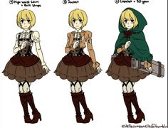 Attack On Titan Lolita