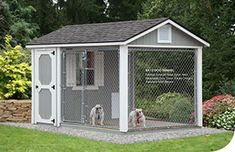 A lovely looking Dog kennel - - Ulrich Barn Builders, LLC Portable Dog Kennels, Dog Kennel Designs, Kennel Ideas, Barn Builders, Shed Cabin, Dog Spaces, Small Spaces, Dog Rooms, Texas